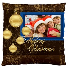 Christmas By Angena Jolin   Large Cushion Case (two Sides)   Bu2upqa5ouj1   Www Artscow Com Front