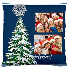 Christmas By Angena Jolin   Large Cushion Case (two Sides)   L8d4nktqopah   Www Artscow Com Front