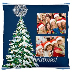 Christmas By Angena Jolin   Large Cushion Case (two Sides)   L8d4nktqopah   Www Artscow Com Back