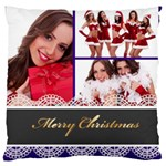 christmas - Large Cushion Case (Two Sides)
