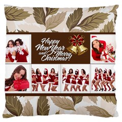 Christmas By Angena Jolin   Large Cushion Case (two Sides)   3gppvvbuvb0h   Www Artscow Com Front