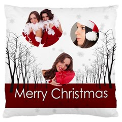 Christmas By Angena Jolin   Large Cushion Case (two Sides)   Otn996zs7gzq   Www Artscow Com Front