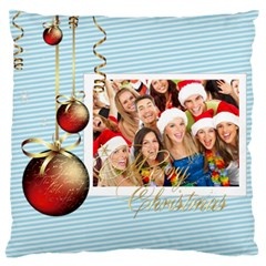 Christmas By Angena Jolin   Large Cushion Case (two Sides)   C2n8nt9t466o   Www Artscow Com Back