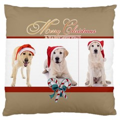 Christmas By Angena Jolin   Large Cushion Case (two Sides)   R3hvwh608dem   Www Artscow Com Back