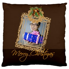 Christmas By Angena Jolin   Large Cushion Case (two Sides)   Ervsgmowta9s   Www Artscow Com Front