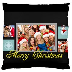 Christmas By Angena Jolin   Large Cushion Case (two Sides)   Lsvgbk30upq0   Www Artscow Com Back