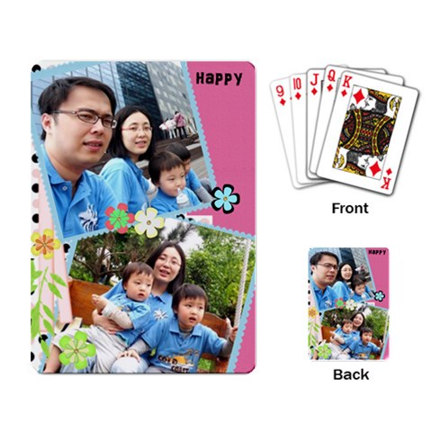 Cards By Vivi Shu   Playing Cards Single Design   0fv2vcrruxcz   Www Artscow Com Back