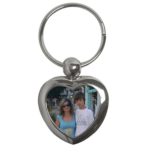 3v Klas By Maria Georgieva   Key Chain (heart)   Th98l627q0c0   Www Artscow Com Front