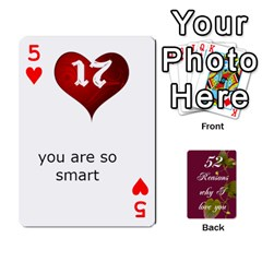 Cards By Allison Buice   Playing Cards 54 Designs   Ckz5sxgmo7pl   Www Artscow Com Front - Heart5