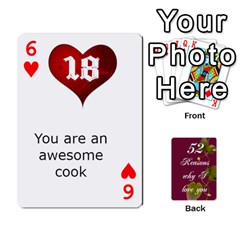 Cards By Allison Buice   Playing Cards 54 Designs   Ckz5sxgmo7pl   Www Artscow Com Front - Heart6