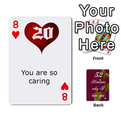 Cards By Allison Buice   Playing Cards 54 Designs   Ckz5sxgmo7pl   Www Artscow Com Front - Heart8