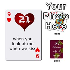 Cards By Allison Buice   Playing Cards 54 Designs   Ckz5sxgmo7pl   Www Artscow Com Front - Heart9