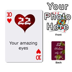 Cards By Allison Buice   Playing Cards 54 Designs   Ckz5sxgmo7pl   Www Artscow Com Front - Heart10