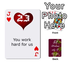 Jack Cards By Allison Buice   Playing Cards 54 Designs   Ckz5sxgmo7pl   Www Artscow Com Front - HeartJ