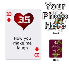 Cards By Allison Buice   Playing Cards 54 Designs   Ckz5sxgmo7pl   Www Artscow Com Front - Diamond10