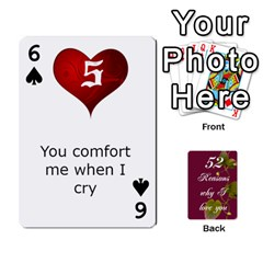 Cards By Allison Buice   Playing Cards 54 Designs   Ckz5sxgmo7pl   Www Artscow Com Front - Spade6