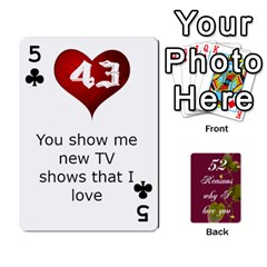 Cards By Allison Buice   Playing Cards 54 Designs   Ckz5sxgmo7pl   Www Artscow Com Front - Club5