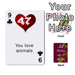 Cards By Allison Buice   Playing Cards 54 Designs   Ckz5sxgmo7pl   Www Artscow Com Front - Club9
