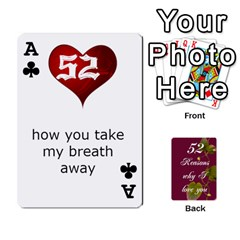 Ace Cards By Allison Buice   Playing Cards 54 Designs   Ckz5sxgmo7pl   Www Artscow Com Front - ClubA