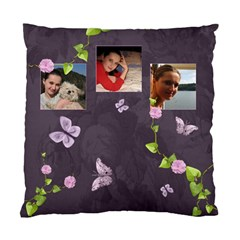 Lavender Dream   Cushion Case(2 Sides)  By Picklestar Scraps   Standard Cushion Case (two Sides)   25nur2r00qam   Www Artscow Com Front