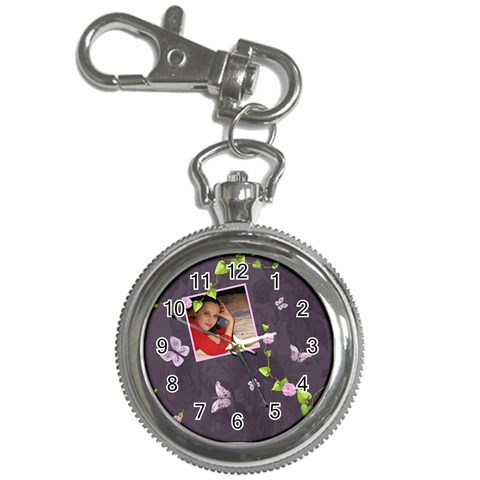 Lavender Dream   Key Chain Watch  By Picklestar Scraps   Key Chain Watch   Iy0ltx3iorqw   Www Artscow Com Front