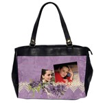 Lavender Dream - Oversize Handbag (2sides)  - Oversize Office Handbag (2 Sides)