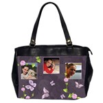 Lavender Dream - Oversize Handbag (2sides)  - Oversize Office Handbag (Two Sides)