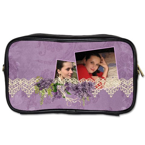 Lavender Dream   Toiletries Bag (one Side)  By Picklestar Scraps   Toiletries Bag (one Side)   Jq35zyoisrmm   Www Artscow Com Front