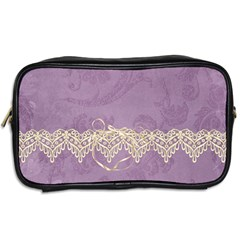 Lavender Dream   Toiletries Bag (two Sides)  By Picklestar Scraps   Toiletries Bag (two Sides)   I97i2o4zyga1   Www Artscow Com Back