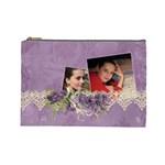 Lavender Dream - Cosmetic Bag (LG)  - Cosmetic Bag (Large)