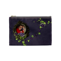 Lavender Dream   Cosmetic Bag (med)  By Picklestar Scraps   Cosmetic Bag (medium)   Fzldgq4dzyld   Www Artscow Com Front