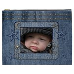 Denim Stars XXXL Cosmetic Bag - Cosmetic Bag (XXXL)