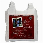 Love Recycle bag (1 Sided) - Recycle Bag (One Side)
