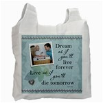 Dream Recycle bag (1 Sided) - Recycle Bag (One Side)