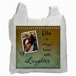 Laughter Recycle bag (1 Sided) - Recycle Bag (One Side)