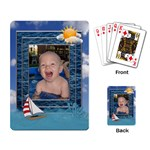 Summer Fun Playing Cards - Playing Cards Single Design