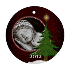Special Christmas Round Ornament (2 Sided) By Lil    Round Ornament (two Sides)   2w1fby1iqsmw   Www Artscow Com Front
