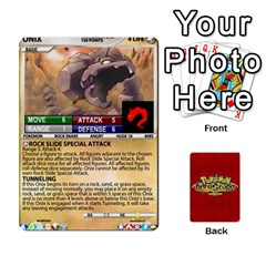 King Pokemon 54 107 New By Seth   Playing Cards 54 Designs (rectangle)   2e16ryjf17ls   Www Artscow Com Front - SpadeK