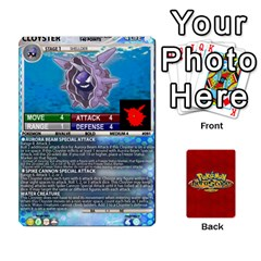 Pokemon 54 107 New By Seth   Playing Cards 54 Designs   2e16ryjf17ls   Www Artscow Com Front - Heart4