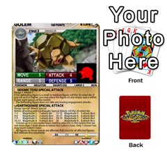 Pokemon 54 107 New By Seth   Playing Cards 54 Designs (rectangle)   2e16ryjf17ls   Www Artscow Com Front - Diamond6