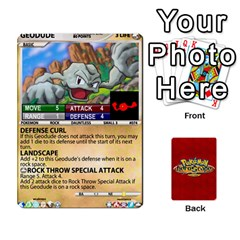Pokemon 54 107 New By Seth   Playing Cards 54 Designs (rectangle)   2e16ryjf17ls   Www Artscow Com Front - Diamond8