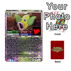 Pokemon 54 107 New By Seth   Playing Cards 54 Designs   2e16ryjf17ls   Www Artscow Com Front - Diamond10