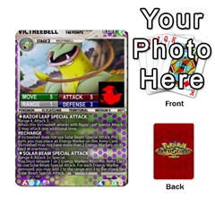 Queen Pokemon 54 107 New By Seth   Playing Cards 54 Designs   2e16ryjf17ls   Www Artscow Com Front - DiamondQ
