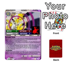 Pokemon 54 107 New By Seth   Playing Cards 54 Designs (rectangle)   2e16ryjf17ls   Www Artscow Com Front - Club5
