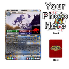 Pokemon 54 107 New By Seth   Playing Cards 54 Designs (rectangle)   2e16ryjf17ls   Www Artscow Com Front - Club8