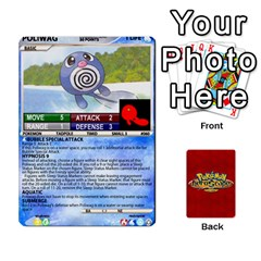 Pokemon 54 107 New By Seth   Playing Cards 54 Designs (rectangle)   2e16ryjf17ls   Www Artscow Com Front - Club10