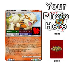 Queen Pokemon 54 107 New By Seth   Playing Cards 54 Designs   2e16ryjf17ls   Www Artscow Com Front - ClubQ