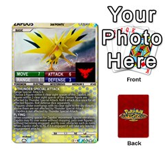 Queen Pokemon 108 151 Extras New By Seth   Playing Cards 54 Designs (rectangle)   U7nx7jmpxk6f   Www Artscow Com Front - SpadeQ