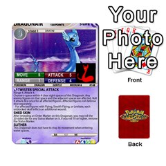 King Pokemon 108 151 Extras New By Seth   Playing Cards 54 Designs (rectangle)   U7nx7jmpxk6f   Www Artscow Com Front - SpadeK