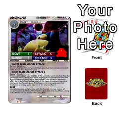 Pokemon 108 151 Extras New By Seth   Playing Cards 54 Designs   U7nx7jmpxk6f   Www Artscow Com Front - Heart4